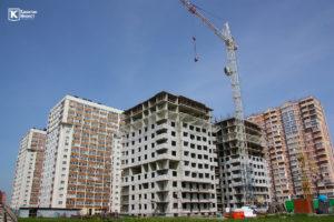 Фотоотчёт о строительстве ЖК Олимп - Апрель 2019