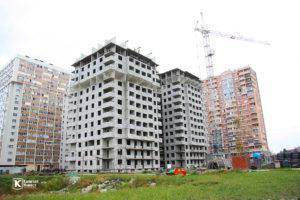 Фотоотчёт о строительстве ЖК Олимп - Май 2019