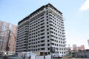 Фотоотчёт о строительстве ЖК Олимп - Июнь 2019