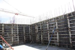Фотоотчёт о строительстве ЖК Олимп - Июль 2019