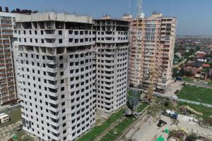 Видеоотчёт о строительстве ЖК Олимп - Август 2019