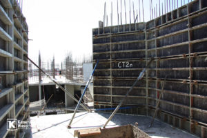 Фотоотчёт о строительстве ЖК Олимп - Август 2019