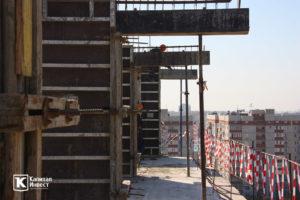 Фотоотчёт о строительстве ЖК Олимп - Сентябрь 2019