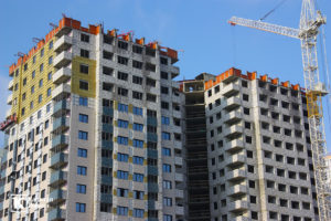 Фотоотчёт о строительстве ЖК Олимп - Ноябрь 2019