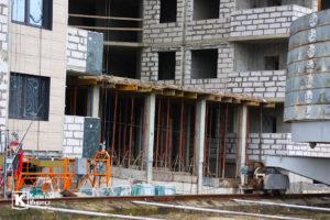 Фотоотчёт о строительстве ЖК Олимп - Декабрь 2019