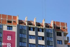 Фотоотчёт о строительстве ЖК Олимп - Февраль 2020