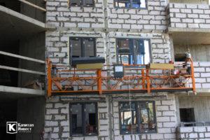 Фотоотчёт о строительстве ЖК Олимп - Март 2020
