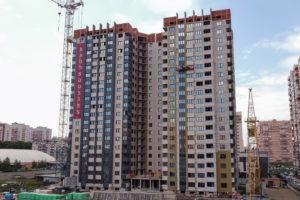 Видеоотчёт о строительстве ЖК Олимп - Апрель 2020