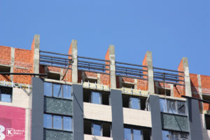 Фотоотчёт о строительстве ЖК Олимп - Май 2020