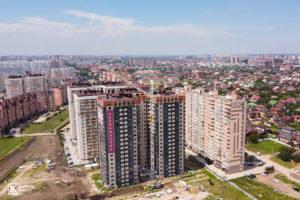 Фотоотчёт о строительстве ЖК Олимп - Июль 2020