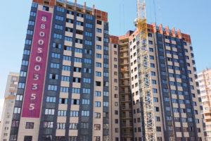 Видеоотчёт о строительстве ЖК Олимп - Июль 2020