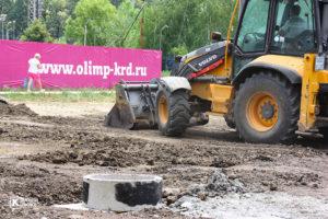 Фотоотчёт о строительстве ЖК Олимп - Июнь 2020