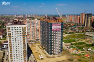 Фотоотчёт о строительстве ЖК Олимп - Август 2020
