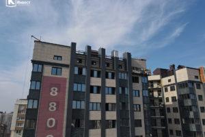 Фотоотчёт о строительстве ЖК Олимп - Октябрь 2020