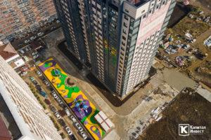 Фотоотчёт о строительстве ЖК Олимп - Ноябрь 2020