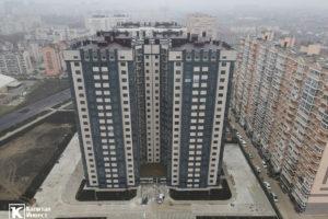 Фотоотчёт о строительстве ЖК Олимп - Декабрь 2020