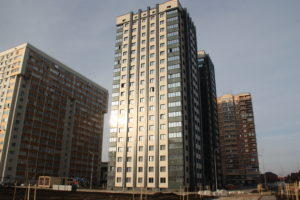 Видеоотчёт о строительстве ЖК Олимп - Декабрь 2020