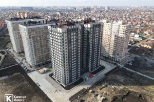 Фотоотчёт о строительстве ЖК Олимп - Февраль 2021