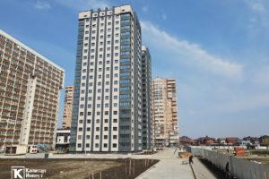 Фотоотчёт о строительстве ЖК Олимп - Март 2021