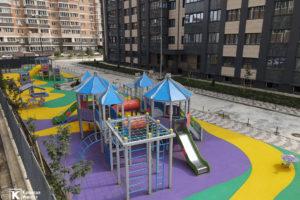 Фотоотчёт о строительстве ЖК Олимп - Июль 2021